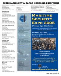 Marine News Magazine, page 38,  Aug 2005 vapor detection systems