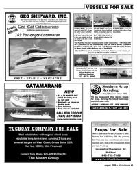 Marine News Magazine, page 44,  Aug 2005 West Coast