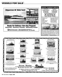 Marine News Magazine, page 45,  Aug 2005 $265K PACIFIC TUGBOAT SERVICE