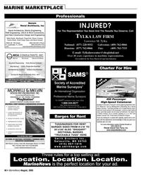 Marine News Magazine, page 49,  Aug 2005 Rhode Island