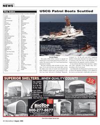 Marine News Magazine, page 4,  Aug 2005 Jerry Roberts