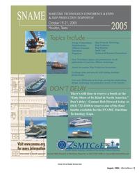 Marine News Magazine, page 5,  Aug 2005