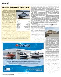 Marine News Magazine, page 6,  Aug 2005 Marina