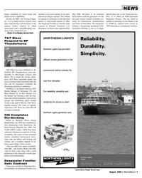 Marine News Magazine, page 7,  Aug 2005 Louisiana