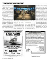 Marine News Magazine, page 14,  Dec 2005 Calhoon MEBA Engineering School