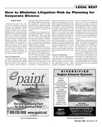 Marine News Magazine, page 15,  Dec 2005 DIVERSIFIED Engine Exhaust Systems
