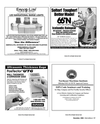 Marine News Magazine, page 17,  Dec 2005 DIVISION OF ELGIN MOLDED PLASTICS WWW.EMPCO-LITE.COM