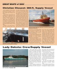 Marine News Magazine, page 20,  Dec 2005 HP