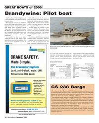 Marine News Magazine, page 22,  Dec 2005 Virginia