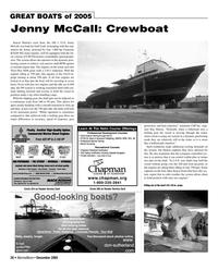 Marine News Magazine, page 26,  Dec 2005 CSP Electronics