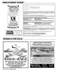 Marine News Magazine, page 34,  Dec 2005 Louisiana