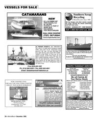 Marine News Magazine, page 36,  Dec 2005 Florida