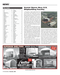Marine News Magazine, page 4,  Dec 2005 Maryland