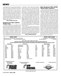 Marine News Magazine, page 8,  Jan 2006