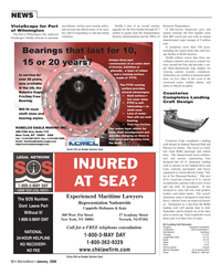 Marine News Magazine, page 12,  Jan 2006