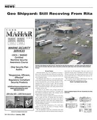 Marine News Magazine, page 14,  Jan 2006