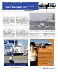 Marine News Magazine, page 19,  Jan 2006