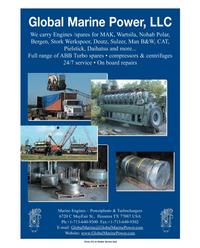 Marine News Magazine, page 3rd Cover,  Jan 2006