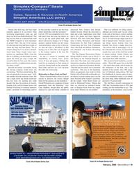 Marine News Magazine, page 19,  Feb 2006