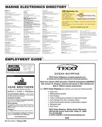 Marine News Magazine, page 30,  Feb 2006