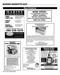 Marine News Magazine, page 38,  Feb 2006