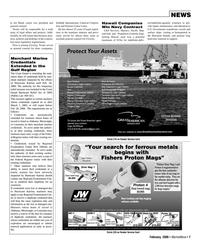 Marine News Magazine, page 7,  Feb 2006
