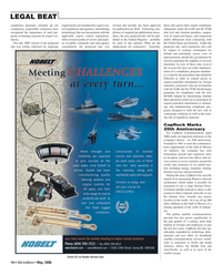 Marine News Magazine, page 14,  May 2006