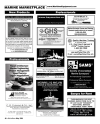 Marine News Magazine, page 48,  May 2006