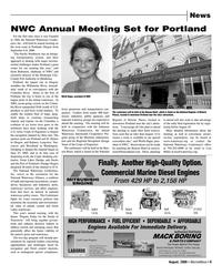Marine News Magazine, page 9,  Aug 2006