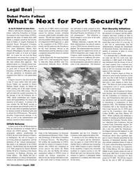 Marine News Magazine, page 14,  Aug 2006