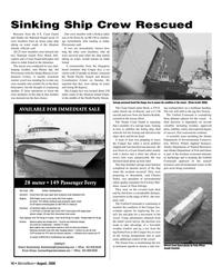 Marine News Magazine, page 16,  Aug 2006