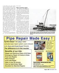 Marine News Magazine, page 19,  Aug 2006