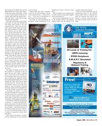 Marine News Magazine, page 21,  Aug 2006
