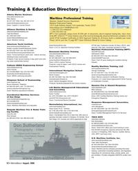 Marine News Magazine, page 22,  Aug 2006