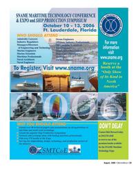 Marine News Magazine, page 29,  Aug 2006