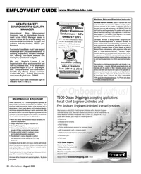 Marine News Magazine, page 34,  Aug 2006