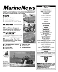 Marine News Magazine, page 2,  Aug 2006