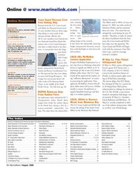 Marine News Magazine, page 4,  Aug 2006