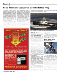 Marine News Magazine, page 6,  Aug 2006