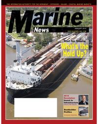 Marine News Magazine Cover Jan 2, 2010 -