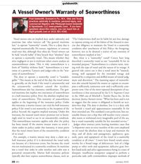 Marine News Magazine, page 18,  Jan 2, 2010