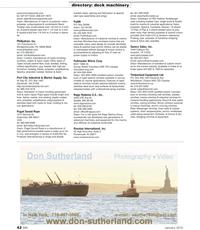 Marine News Magazine, page 42,  Jan 2, 2010