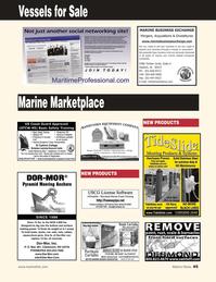 Marine News Magazine, page 45,  Jan 2, 2010