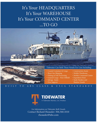 Marine News Magazine, page 3rd Cover,  Jan 2, 2010
