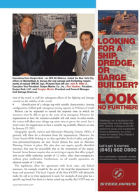 Marine News Magazine, page 15,  Jan 2011 Douglas Martin