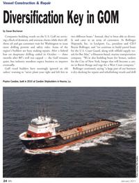 Marine News Magazine, page 24,  Jan 2011 Otto Candies