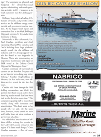 Marine News Magazine, page 25,  Jan 2011 offshore oil industry