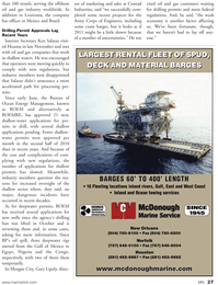 Marine News Magazine, page 27,  Jan 2011 Louisiana