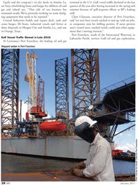 Marine News Magazine, page 28,  Jan 2011 Chett Chiasson