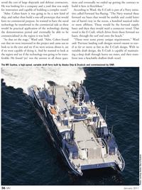 Marine News Magazine, page 36,  Jan 2011 Navy